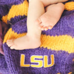 LSU Newborn baby photo
