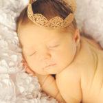 newborn baby crown