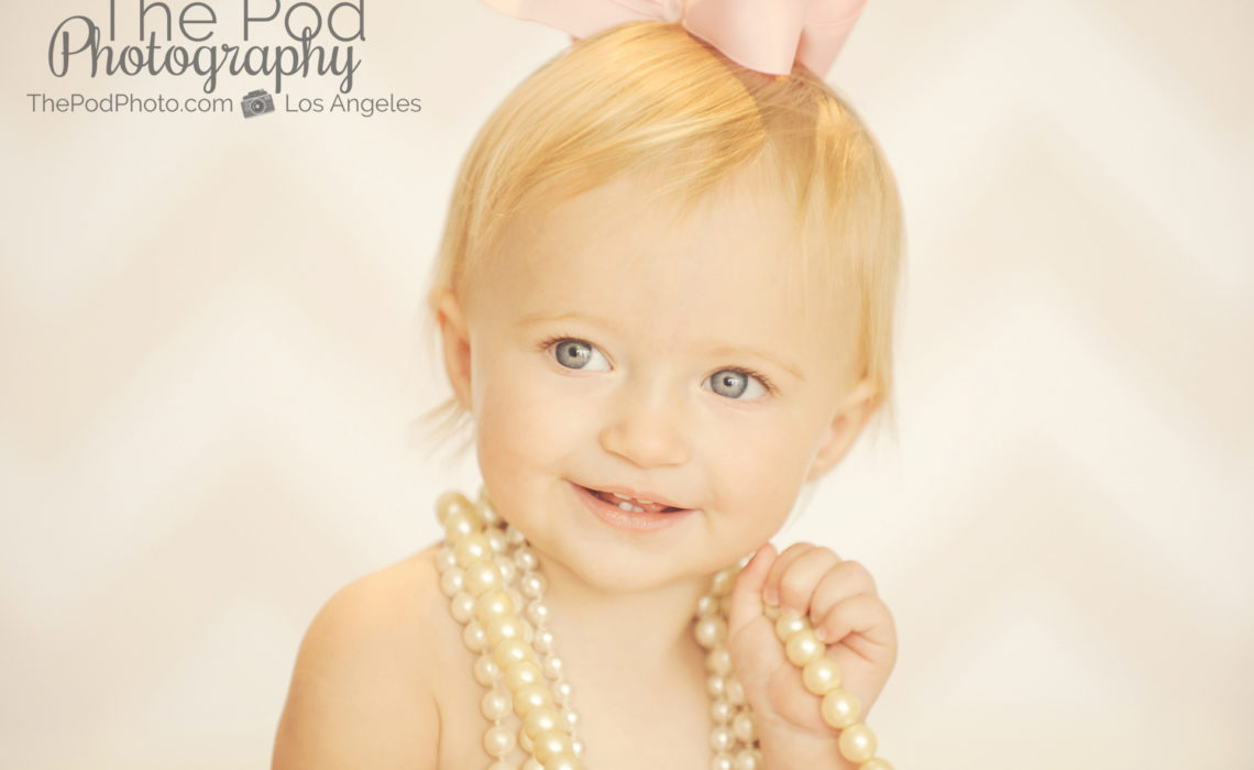 One-Year-Old-Pearls-Portrait-Brentwood