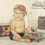 Santa-Monica-Baby-Portrait-Photographer-Suitcase-Trunks-Traveler-Set-Aviator-Airplanes