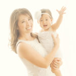 Mommy-And-Me-Baby-Girl-White-Outfits-Styled-Hair-Makeup-Photographer-Brentwood