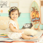 Best-Culver-City-Portrait-Studio-Full-Service-Themed-Sets-Summer-Bohemian-Camper-Baby-Portrait-One-Year-Old-Floral-Crown-Crochet-Beach-Surf-Venice