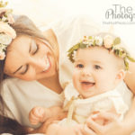 Mommy-And-Me-Bohemian-Headbands-Floral-Crowns-Candid-Photos-Vista-Del-Mar