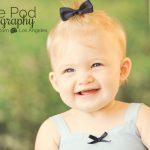 Calabasas-Baby-Photograph-Alice-Blue-Dress-Big-Smile