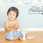 Best-First-Birthday-Cake-Smash-Photographer-Los-Angeles-Marina-Del-Rey-Sky-Theme-Party-SusieCakes-Custom-Stand