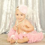 Best-Girly-Styling-Sequins-Pink-Tutu-Pearls-Big-Over-The-Top-Headband-Mar-Vista-Photographer