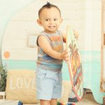 Best-Los-Angeles-Portrait-Studio-One-Year-Old-Props-Bohemian-Baby-Mohawk-Surf-Set-Venice-Beach