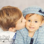 Big-Brother-Kissing-Little-Sister-Mar-Vista-Kids-Photographer