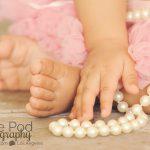 Detail-Hands-Feet-Baby-Toes-Pearls-Tutu-Shot-Marina-Del-Rey-Photographer