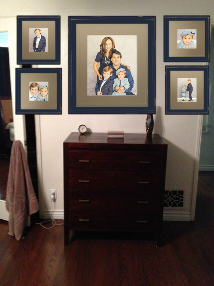 Large Frame Grouping - Los Angeles based photo studio, The Pod ...