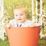 little-baby-girl-in-a-bucket