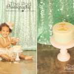 Pink-and-teal-first-birthday-cake-smash-lace-tutu-skirt-crown-gold-sequins-sparkle-los-angeles-photographer-SusieCakes