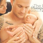 edgy-newborn-baby-family-photo