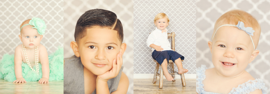 Best-Los-Angeles-Baby-And-Kids-Photographer-Winter-Holiday-Photos-Gray-Quatrefoil-Classic-Set