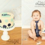Baby-Korean-First-Birthday-Cake-Smash-Photographs-Polka-Dot-SusieCakes-Blue-Theme