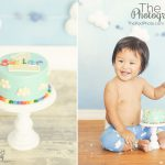 Best-First-Birthday-Cake-Smash-Photographer-Manhattan-Beach-SusieCakes-Custom-Cloud-Sky-Theme-Cake