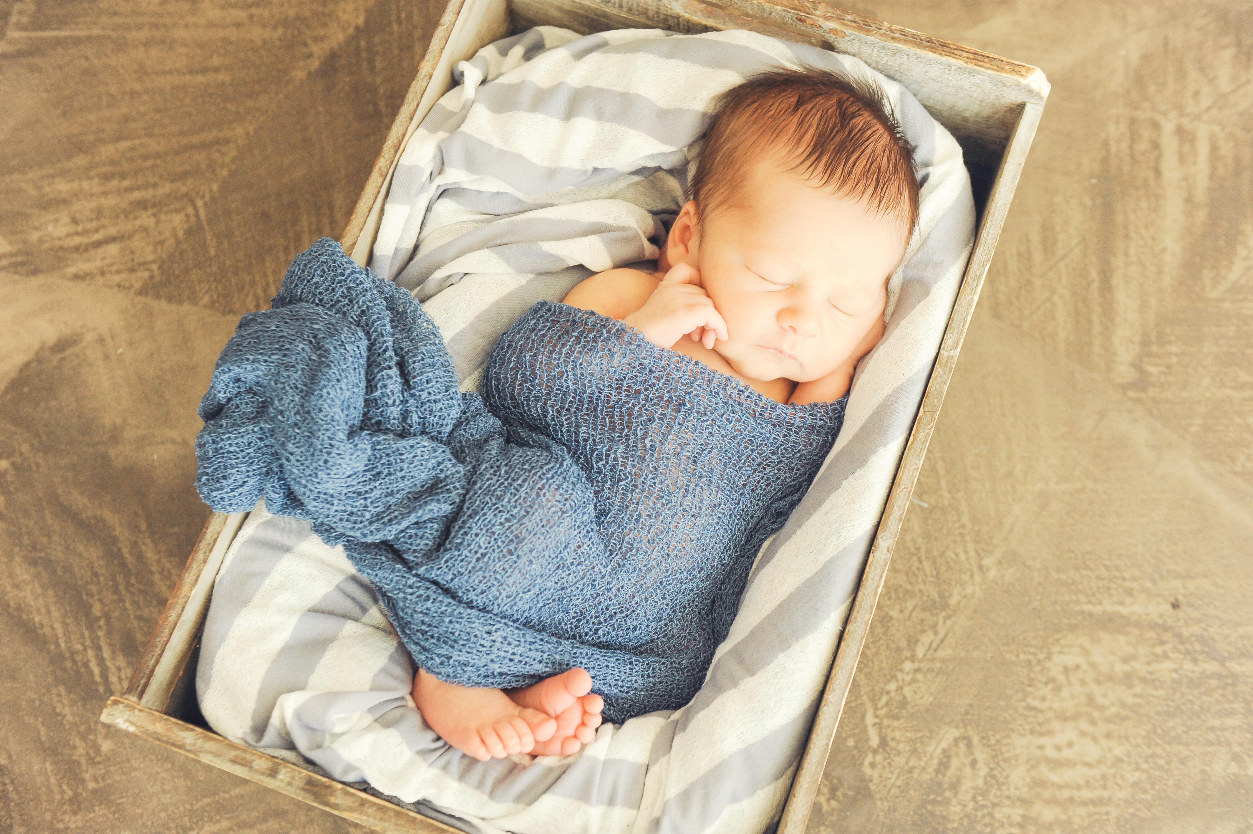 Nautical Newborn Photo Shoot Best Newborn Baby