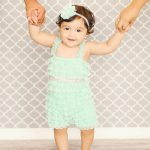 One-Year-Old-Standing-Holding-Mom-And-Dad-Hands-Bel-Air-California-Baby-Photographer