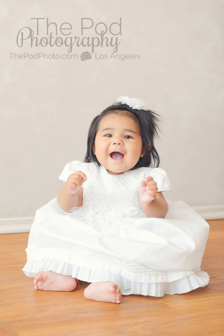 Smiles at Seven Months Old! | Best Baby Photos Marina Del Rey