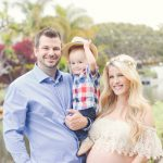 venice canals maternity photo session