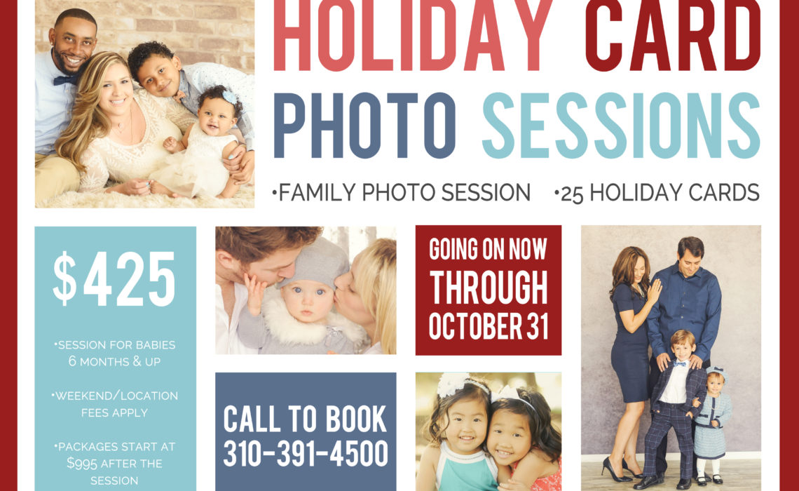 holiday card photo sessions los angeles - Best Holiday Cards