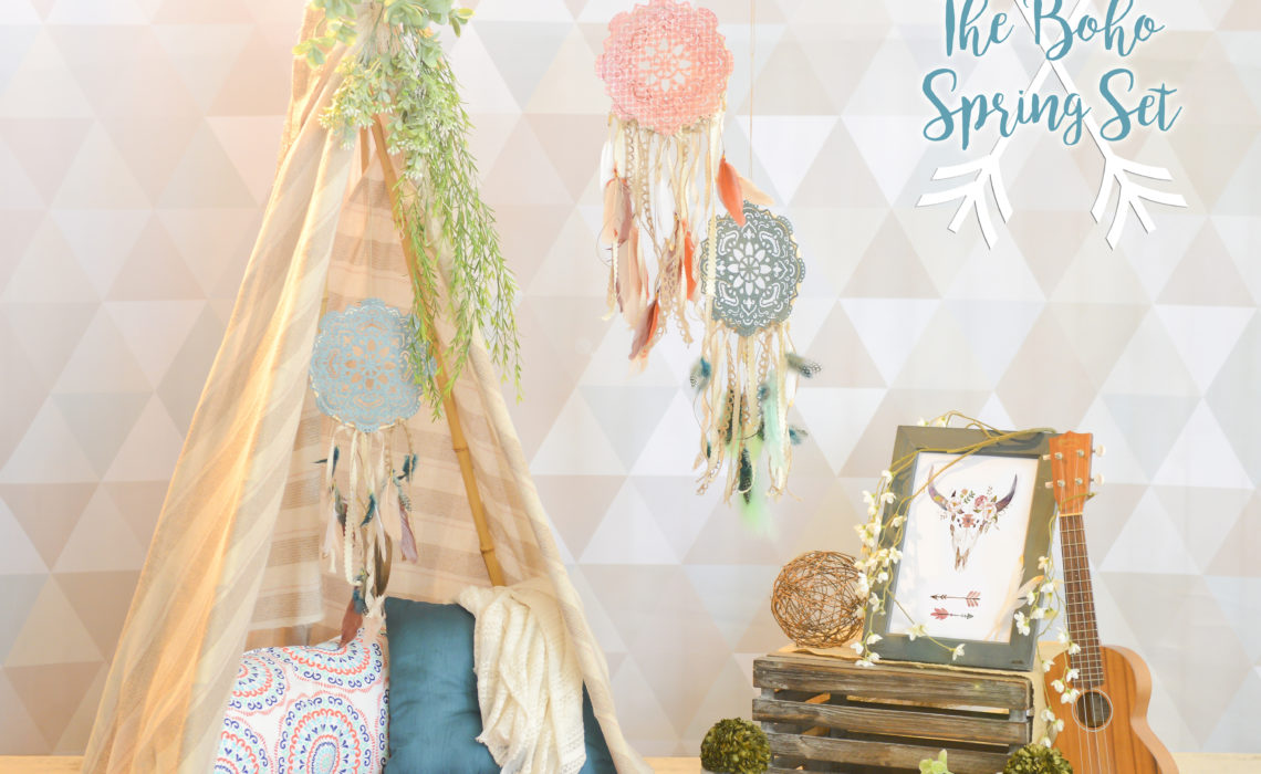 spring-photo-sessions-los-angeles-boho-chic-bohemian-baby-teepee-dreamcatcher-bullhead-flowers-succulents-gypsy-wild-child