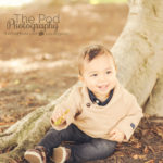 8-month-old-baby-photo-shoot-outside
