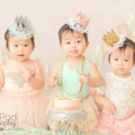 triplet-cake-smash-one-year-photos-los-angeles