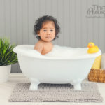 baby-in-bathtub-woodland-hills-portrait-studio