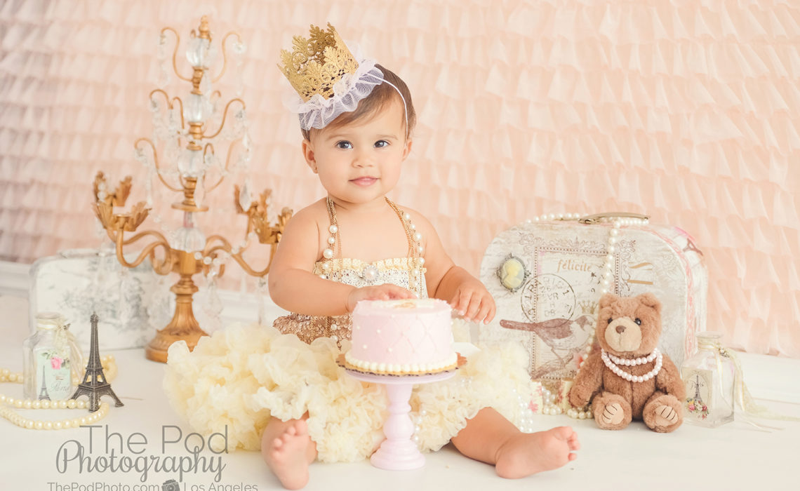Terrific Best Cake Smash Photographer Hollywood First Birthday Photo Shoot Funny Birthday Cards Online Elaedamsfinfo