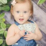baby milestones portraits