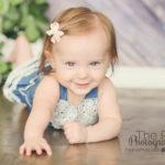 baby milestone portraits