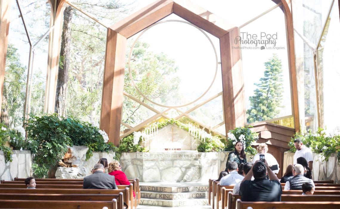 Photo of Wayfarer's Chapel in Rancho Palos Verdes for baby baptism