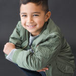 hollywood-kids-portraits-kneeling-in-jacket