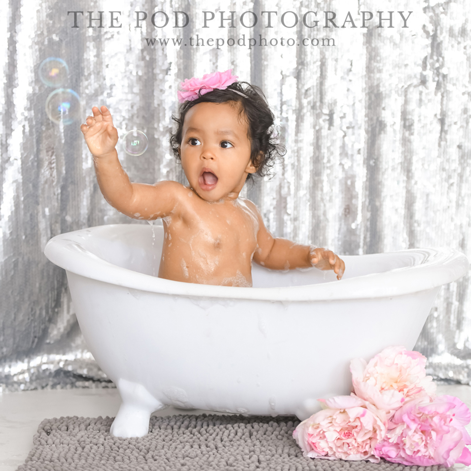 Beverly-Hills-Cake-Smash-Photography-Baby-In-A-Bathtub - Los Angeles ...