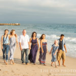 Los-Angeles-Family-and-Kids-Photography-Walking-On-Beach