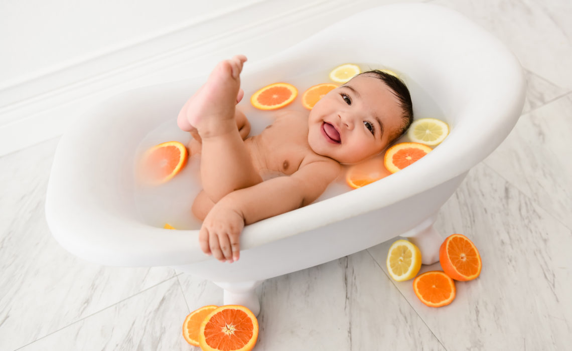 beautiful-baby-milk-bath-portrait-session