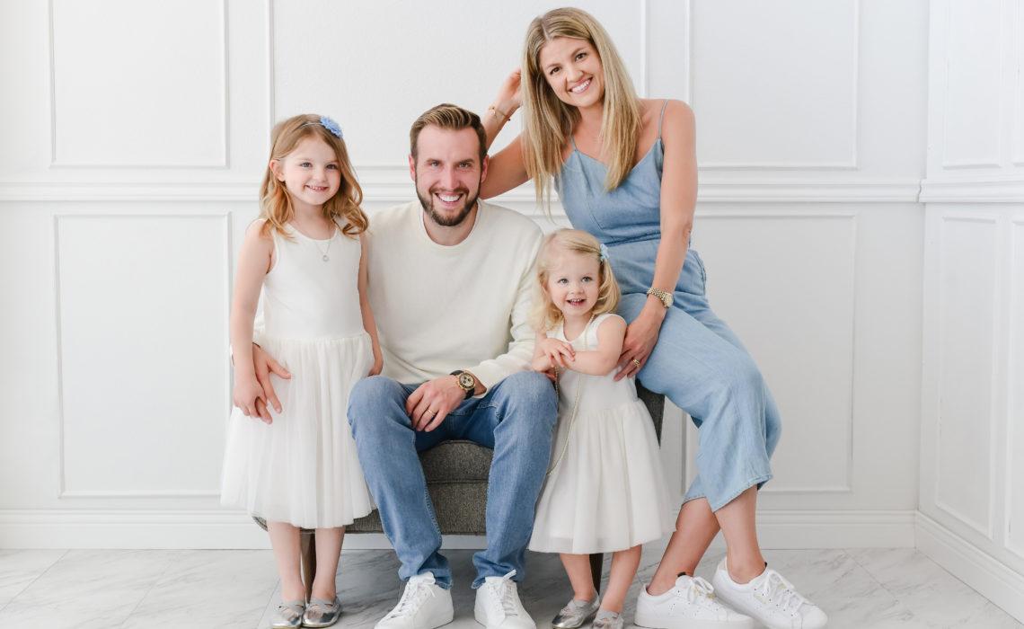santa monica family photo