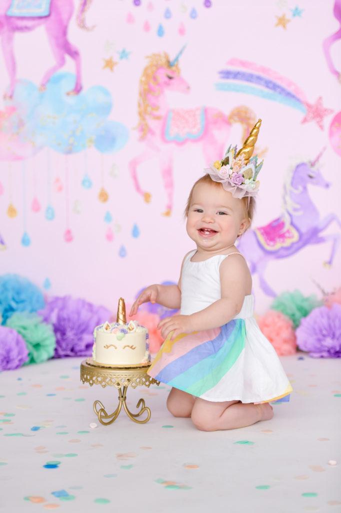 boho baby unicorn