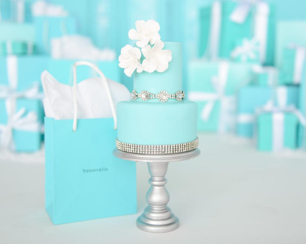Breakfast at Tiffany's Cake Smash