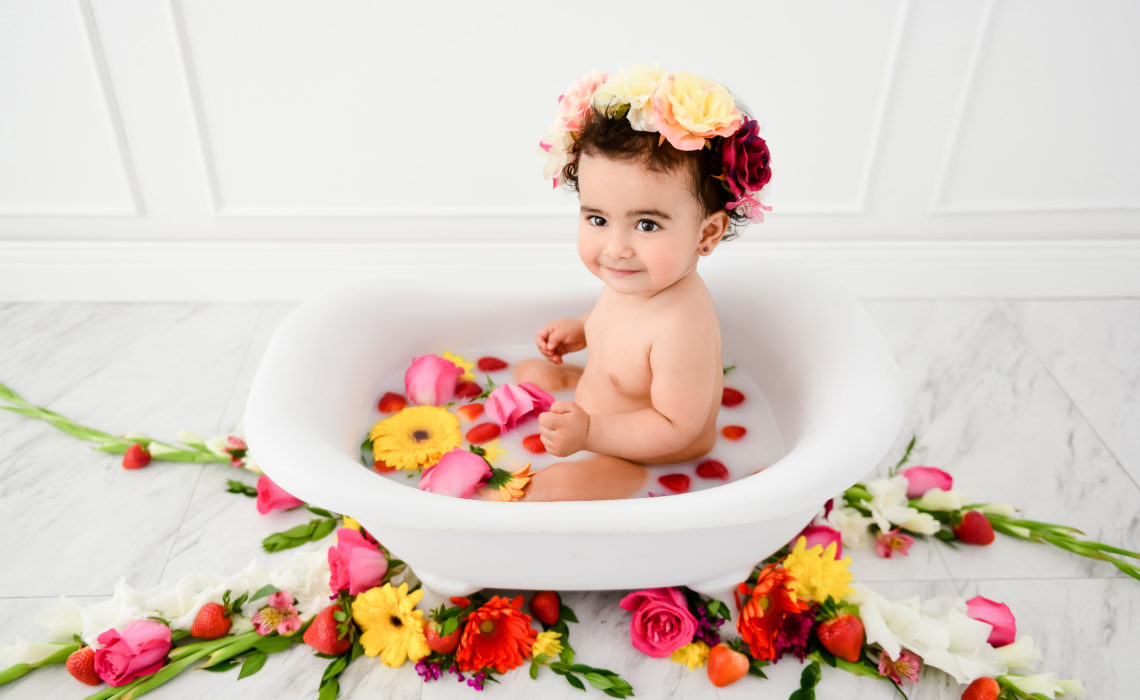 Frida Kahlo Inspired First Birthday Session