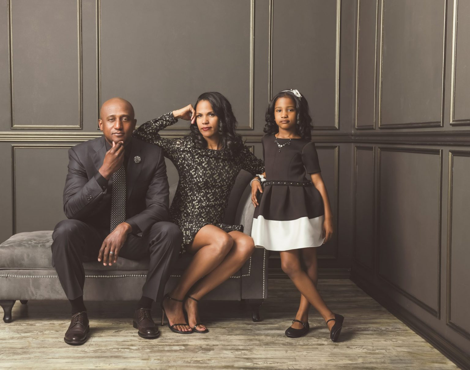Brentwood holiday family portraits