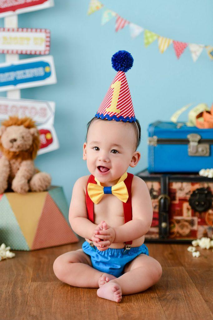circus first birthday